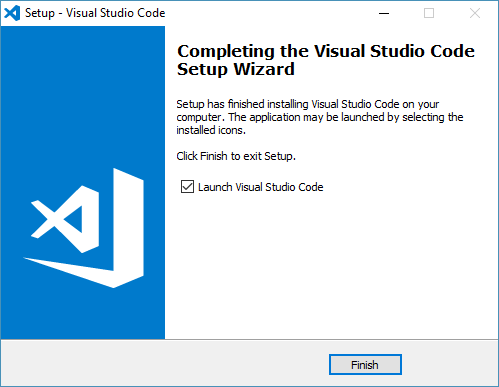 visual studio code installed