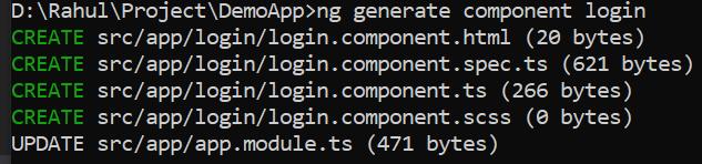 generating component
